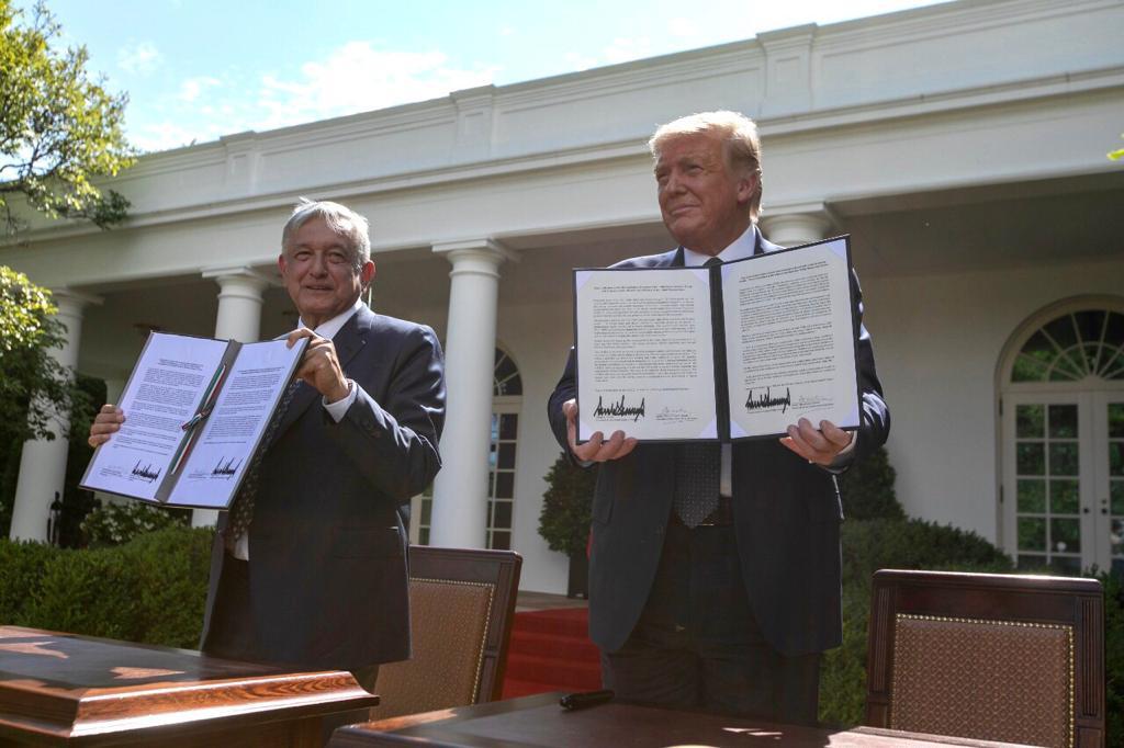 Declaración Conjunta sobre la reunión entre el presidente de los Estados Unidos de América, Donald J. Trump, y el presidente de los Estados Unidos Mexicanos, Andrés Manuel López Obrador