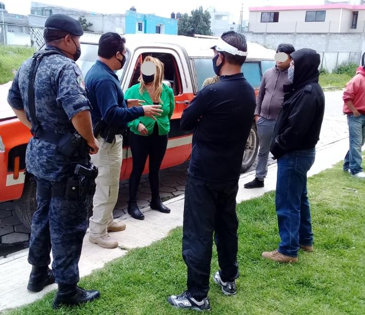 En coordinación vecinos y policía de Yauhquemehcan previenen delito