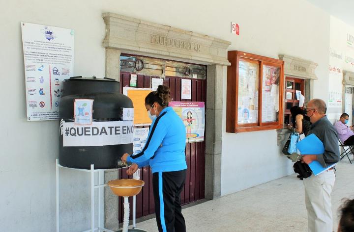Reabren presidencia municipal de Yauhquemehcan con todas las medidas sanitarias
