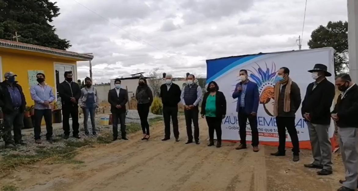Electrificarán calle en San Benito Xaltocan de Yauhquemehcan