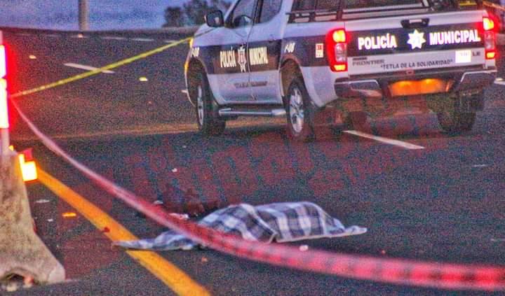 Sería trabajador de Coppel el atropellado y muerto en Tetla