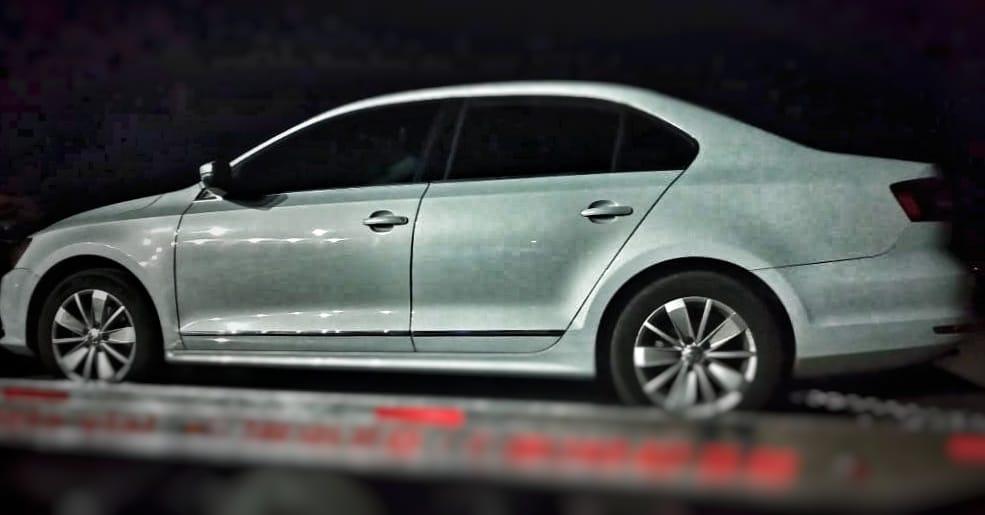 Recupera policía de Tlaxco auto robado con violencia