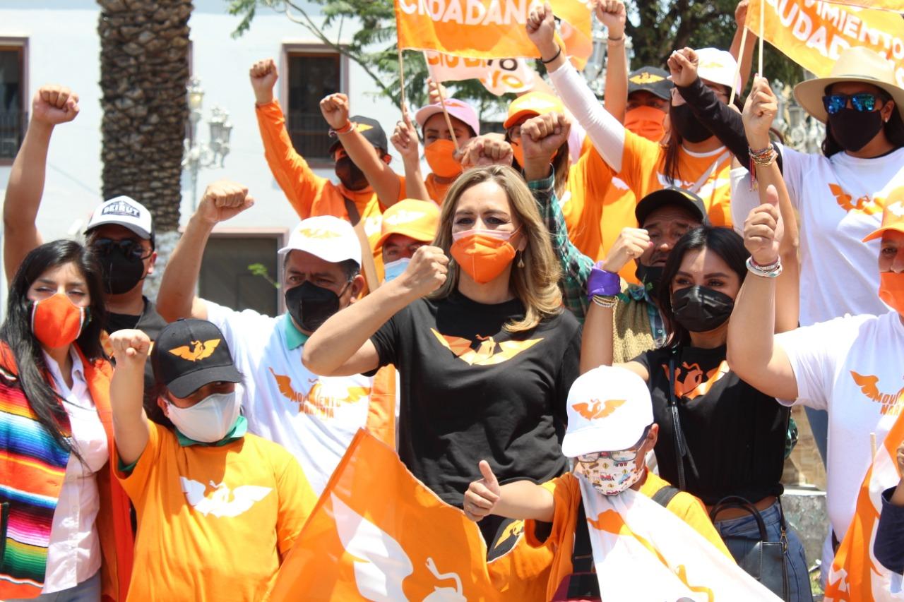 Eréndira Jiménez, lista para el primer debate con candidatos a la gubernatura del estado*