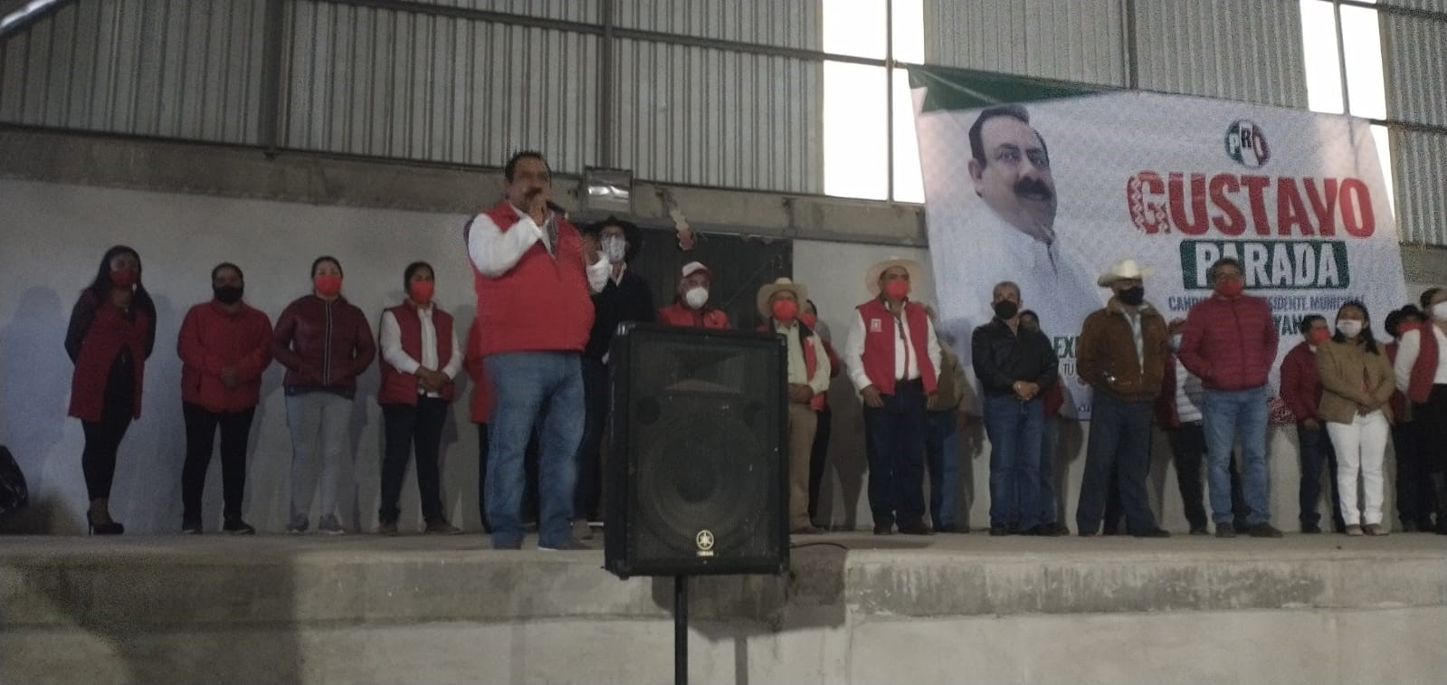 Gustavo Parada Matamoros inicia campaña con el pie derecho en Atltzayanca
