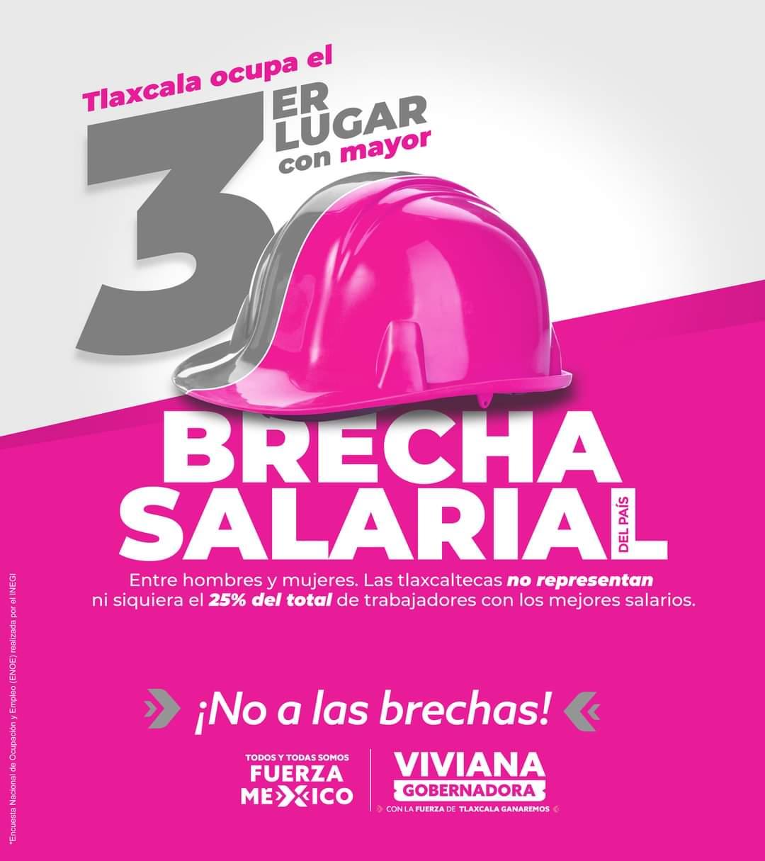 Viviana Barbosa romperá con la brecha salarial en Tlaxcala