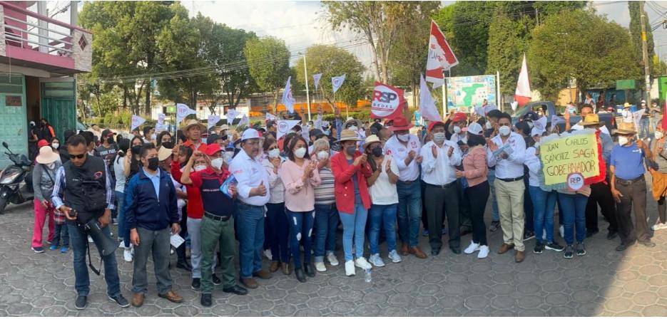 Generará 50 mil empleos en el estado, dice Saga en Ayometla