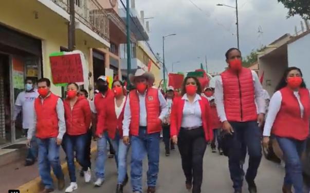 Toño Romero reafirmó sus compromisos con la ciudadanía en el arranque formal de su campaña