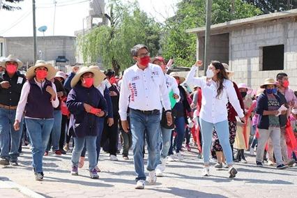 El campo, la salud y los adultos mayores serán prioridad para Arnulfo Arévalo en caso de obtener el triunfo en el Distrito 11