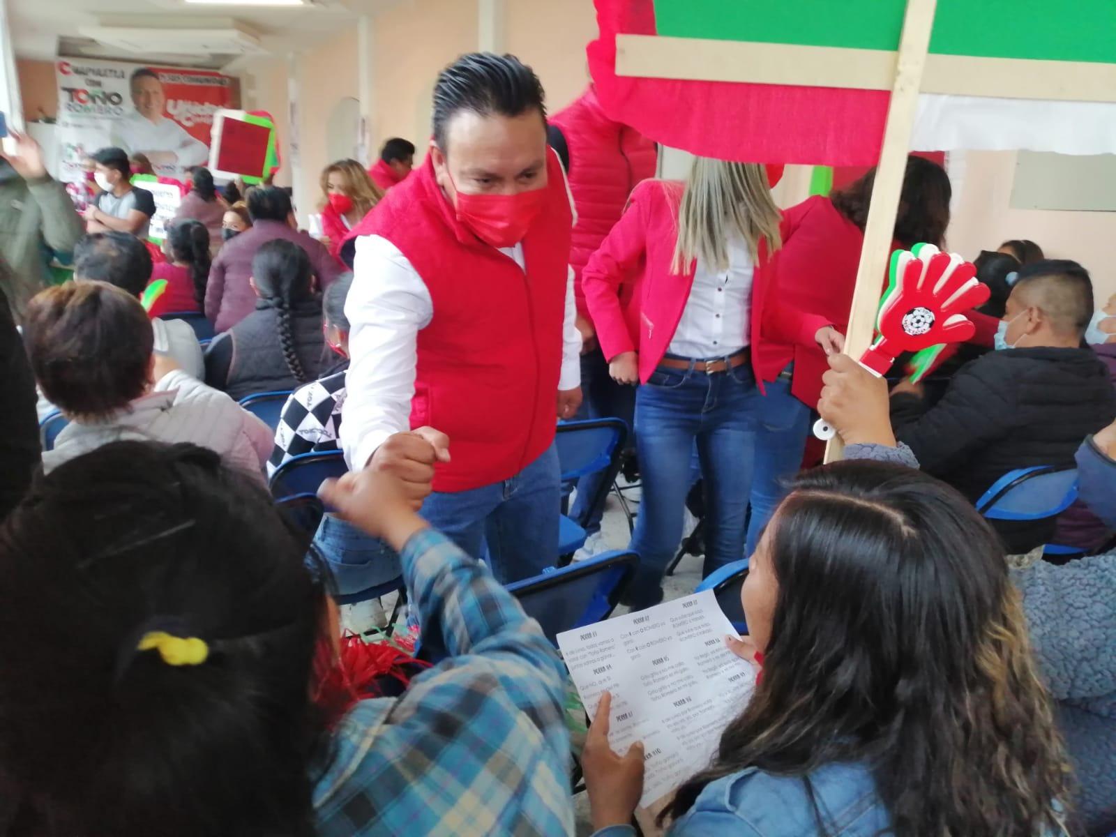 Toño Romero visualiza a Cuapiaxtla con más oportunidades para todos