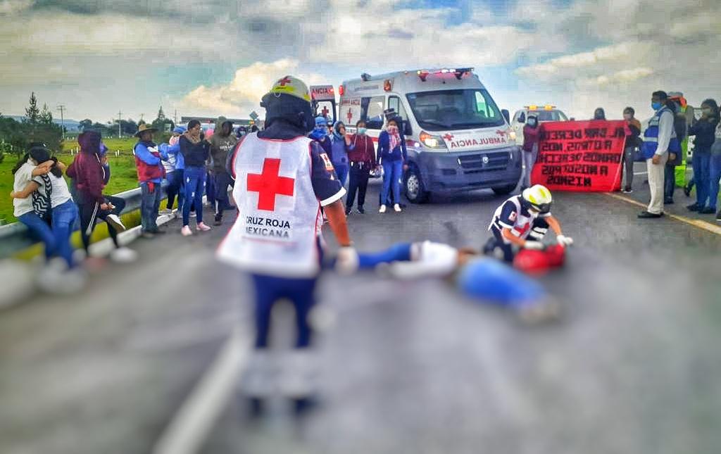 Mueren de forma trágica normalistas en la Amozoc-Perote