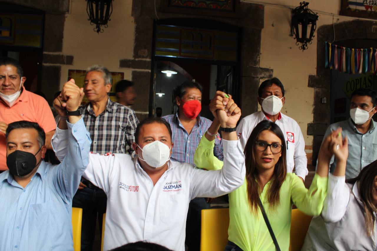 10 de los 15 Candidatos a la alcaldía de Zacatelco denuncian inconsistencias ante el virtual presidente municipal