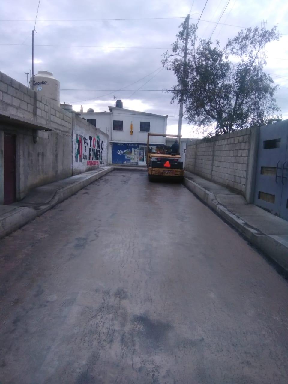 Con obras de infraestructura se mejora la imagen urbana en CUAPIAXTLA
