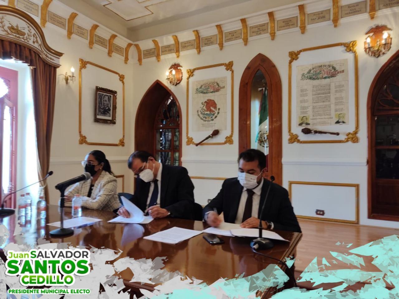Comienza proceso de entrega- recepción en el Ayuntamiento de HUAMANTLA
