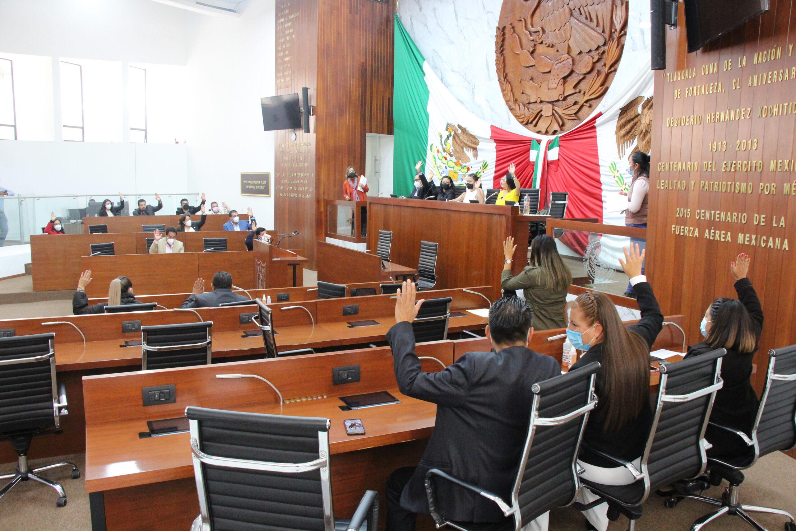 VALIDA CONGRESO DE TLAXCALA REFORMA PARA FORTALECER LA RELACIÓN ENTRE LOS PODERES LEGISLATIVO Y EJECUTIVO