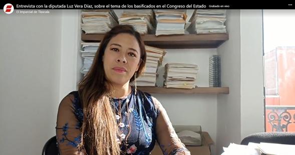 Diputada Luz Vera Díaz espera que proceso de transición sea terso
