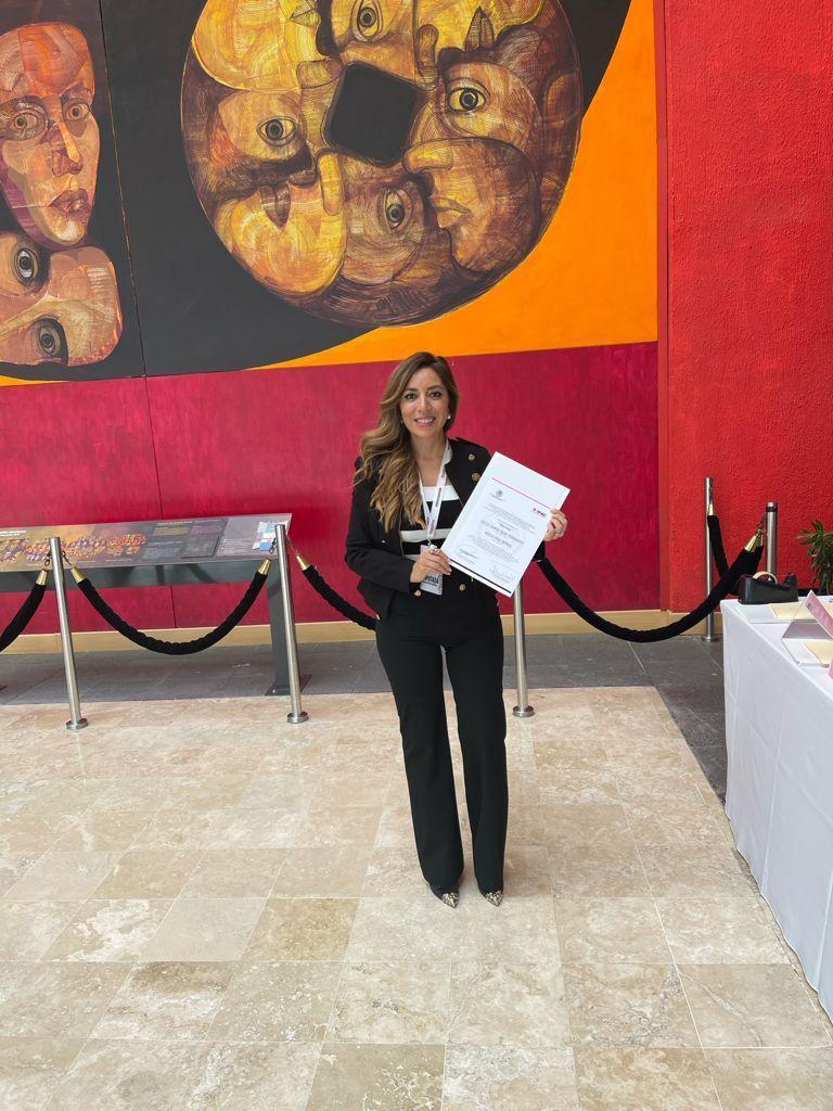Dulce Silva recibe constancia como diputada de la LXV Legislatura del Congreso de la Unión