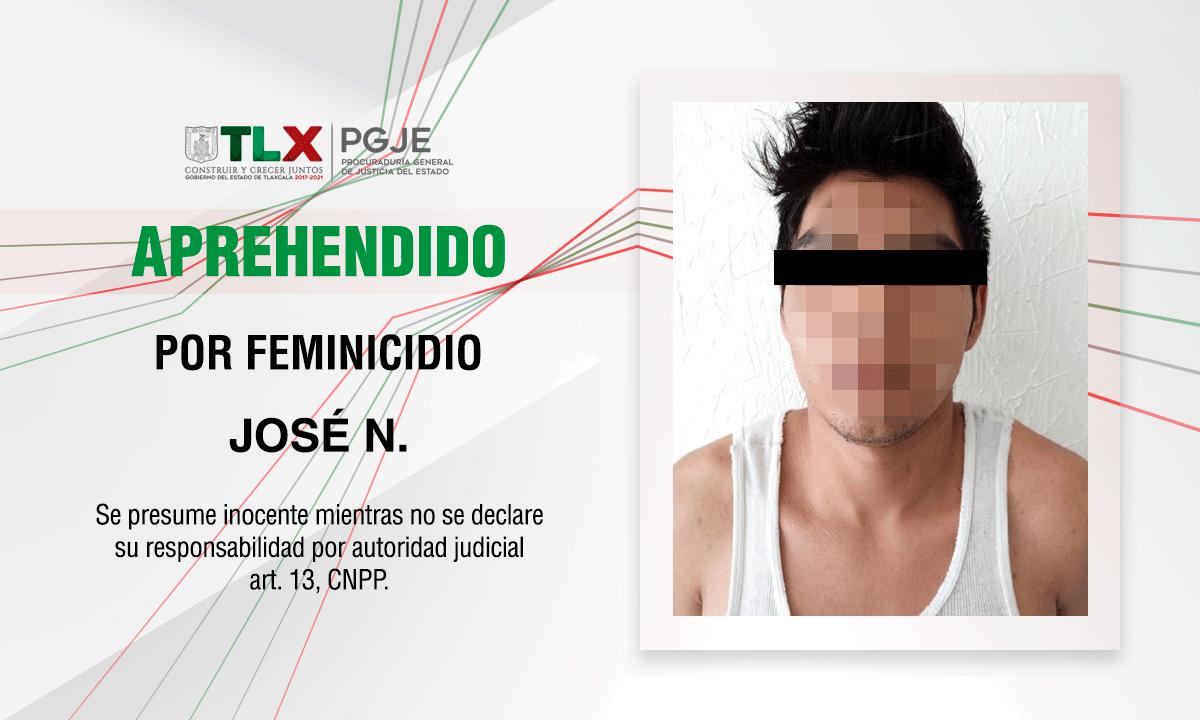 ESCLARECE PGJE FEMINICIDIO DE UNA MENOR DE EDAD EN HUAMANTLA