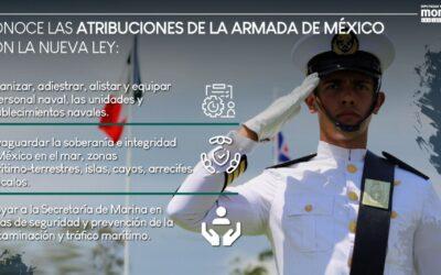 Fuerzas Armadas velarán por la soberanía nacional con mayores atribuciones: Dulce Silva