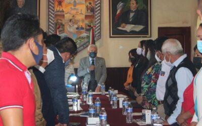El Ayuntamiento que encabeza Gustavo Jiménez Romero aprueba comisiones del Cabildo en un marco de cordialidad y compromiso por Chiautempan