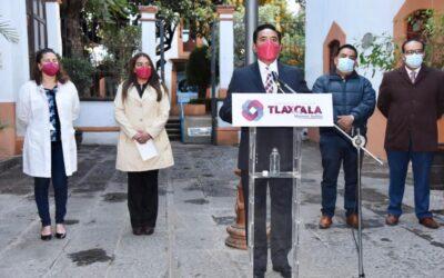 Da a conocer el presidente municipal de Tlaxcala, Jorge Corichi, avances a 13 días de su administración