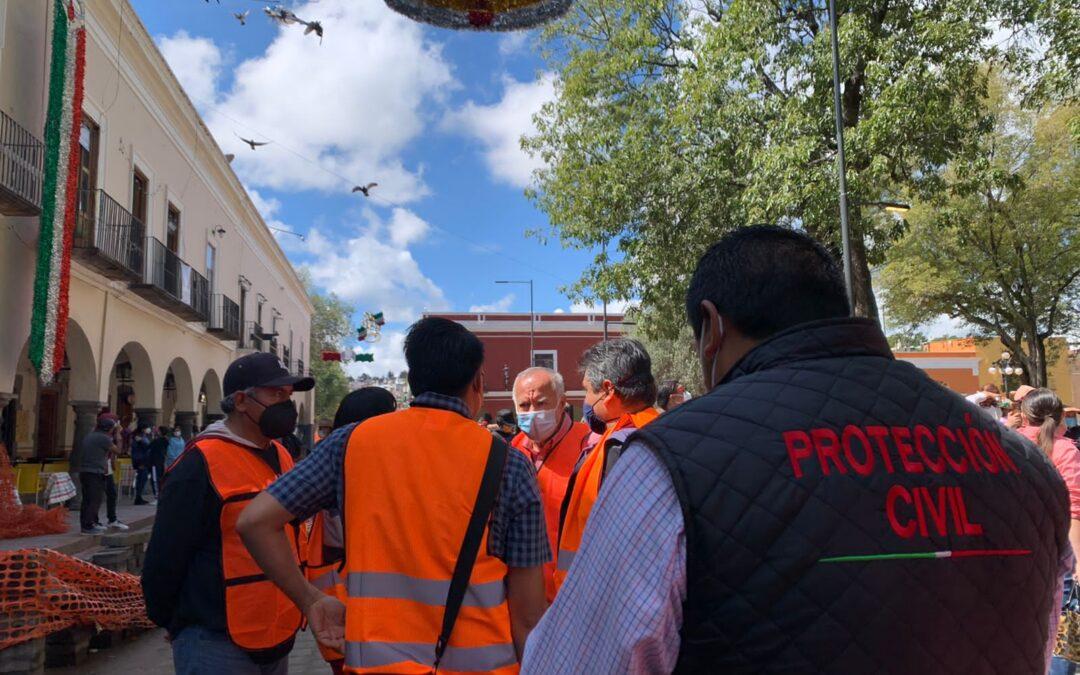 Participa la Ciudad de Tlaxcala en el Simulacro Nacional 2021