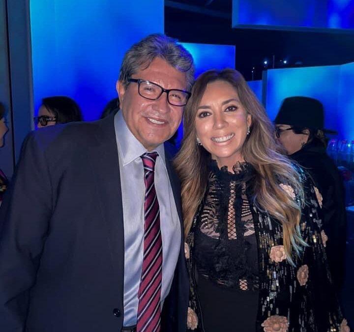Dulce Silva asiste a presentación de El Pabellón de México en la Expo 2020 Dubai