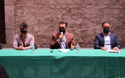 """""""Huamantla será ejemplo estatal en materia de transparencia"""": Salvador Santos Cedillo."""