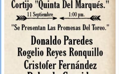 """INTERESANTE FESTEJO TAURINO EN EL CORTIJO """"LA QUINTA DEL MARQUEZ"""""""