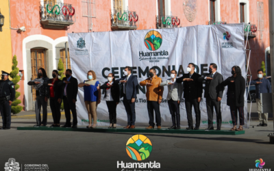 Reconoce presidente municipal de Huamantla a trabajadores de la salud y convoca a la población a no bajar la guardia.