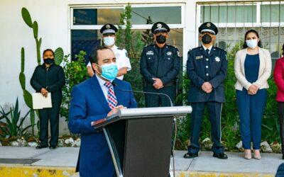 Pide alcalde de Apizaco que policías dignifiquen su lealtad a los ciudadanos