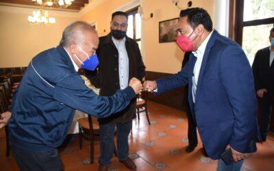 El presidente municipal de Tlaxcala y representantes del Clero coinciden en la importancia de impulsar la capital como un municipio turístico