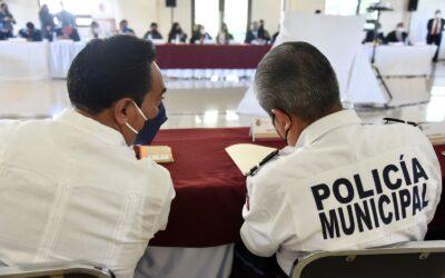 Alinea Jorge Corichi esfuerzos con dependencias estatales y federales, en materia de seguridad