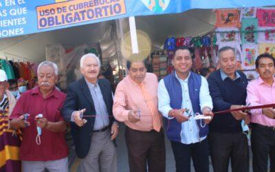 """Inauguran """"Tianguis Artesanal y Textil La Guadalupana"""" en Ixcotla, comunidad de Chiautempan"""