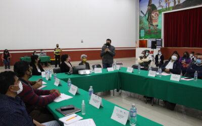 Huamantla, sede de la primera reunión de bases de colaboración en materia de salud.