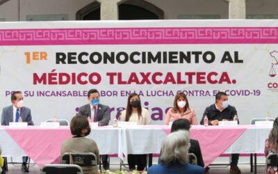 RECONOCE CONGRESO DEL ESTADO A MÉDICOS TLAXCALTECAS: LUPITA CUAMATZI