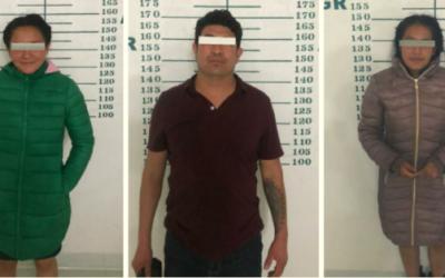 Por portación ilegal de armas de fuego, 5 personas fueron detenidas por la policía municipal de Huamantla y puestos a disposición de la FGR.