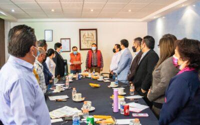 Cabildo de Apizaco toma protesta a Presidente del Cerrito de Guadalupe