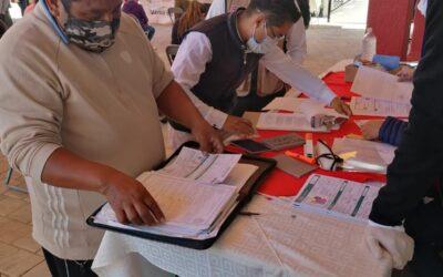 Presidencia de Amaxac promueve atención a población vulnerable