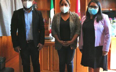 Avanza DIF de Amaxac en el establecimiento de la Procuraduría Municipal de Protección de las Niñas, Niños y Adolescentes