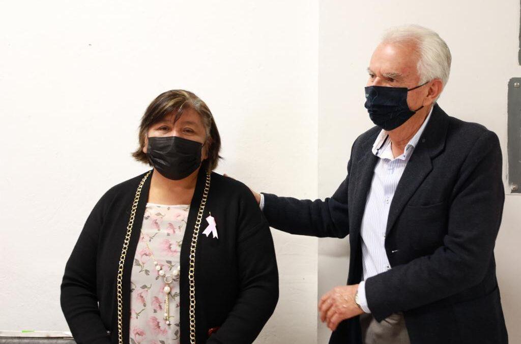 Promueve Chiautempan detección oportuna contra el cáncer de mama