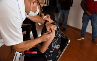 Respalda Tlaxcala Capital última etapa de la vacunación contra COVID19